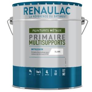 Primaire d'accrochage universel pour métaux non ferreux et PVC à base de copolymères acryliques contenant des résines Hydro PLIOLITE®.