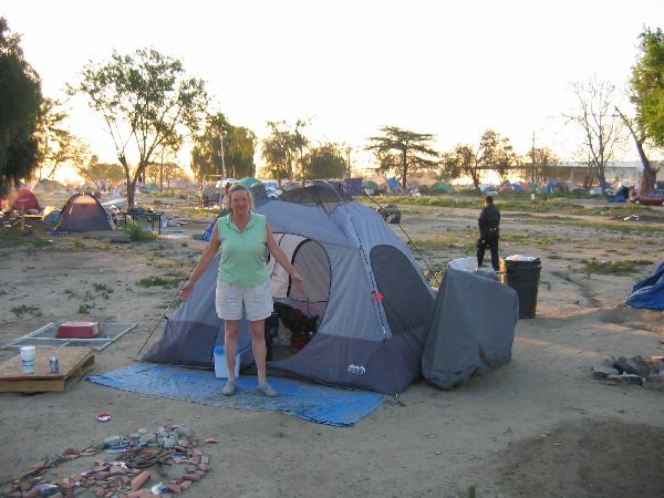 Tent City Residents ...