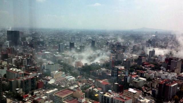 Avanza la reconstrucción de la Ciudad de México