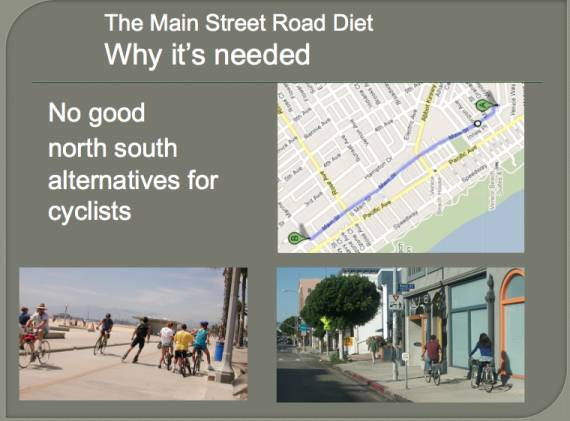 To see their proposal, ##http://ladotbikeblog.files.wordpress.com/2011/01/main-street-bike-lanes-final.ppt##click here.##