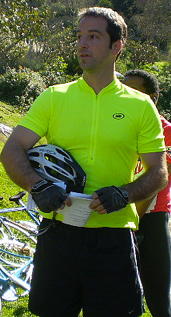 Kennedy at the Tour de Ballona II in 2009.