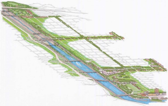 A rendering of the RiverLink project. Photo courtesy of the City of Long Beach