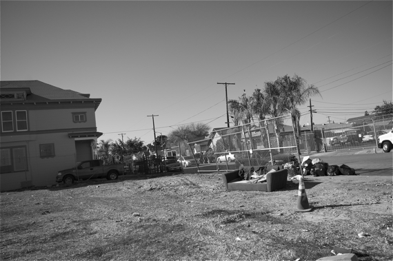 Vacant lots are magnets for illegal dumping. Sahra Sulaiman/LA Streetsblog