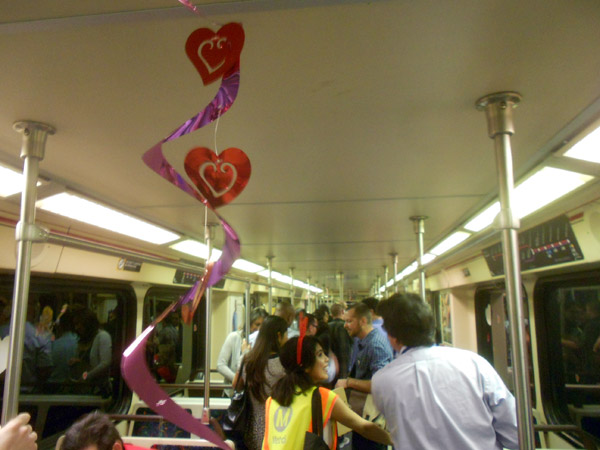 Red line speed dating
