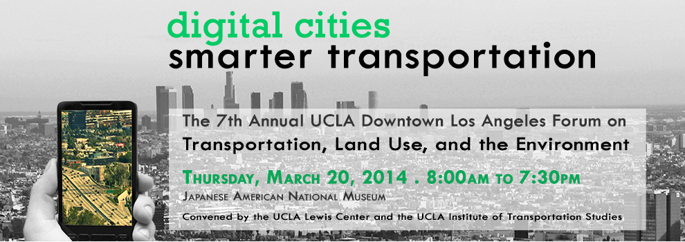 The Digital Cities, Smarter Transportation conference was held yesteday in Little Tokyo.