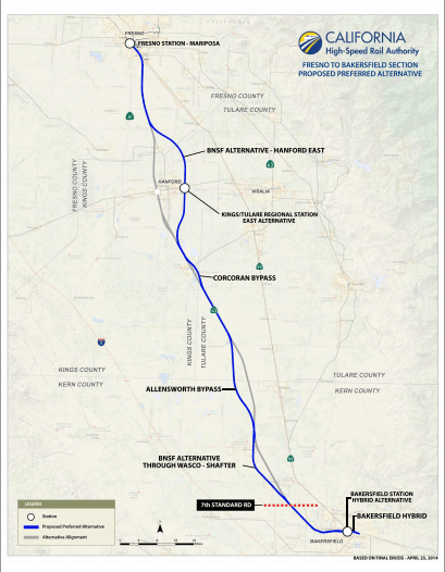 Click on the image to go to a higher resolution pdf. Image via California High Speed Rail
