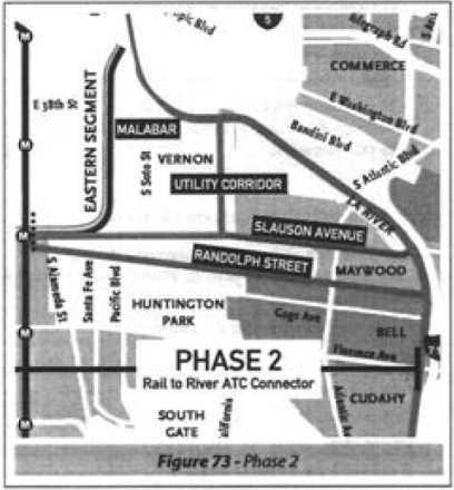 Phase 2: The Eastern Segment and its myriad options. (Feasibility Study)