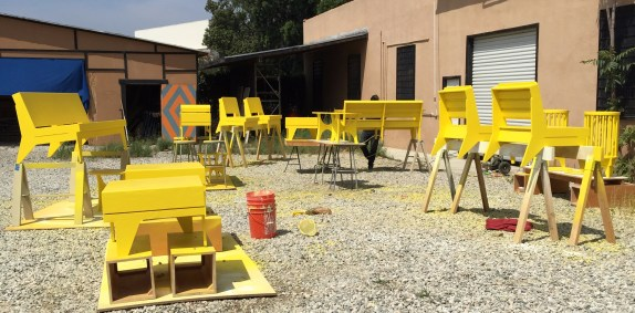 LA Mas' new street furniture coming to Reseda Blvd soon. Photo: LA Mas