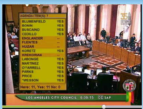 Los Angeles City Council approves a bridge to the 1950s.