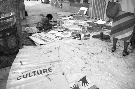 And art-making. Sahra Sulaiman/Streetsblog L.A.