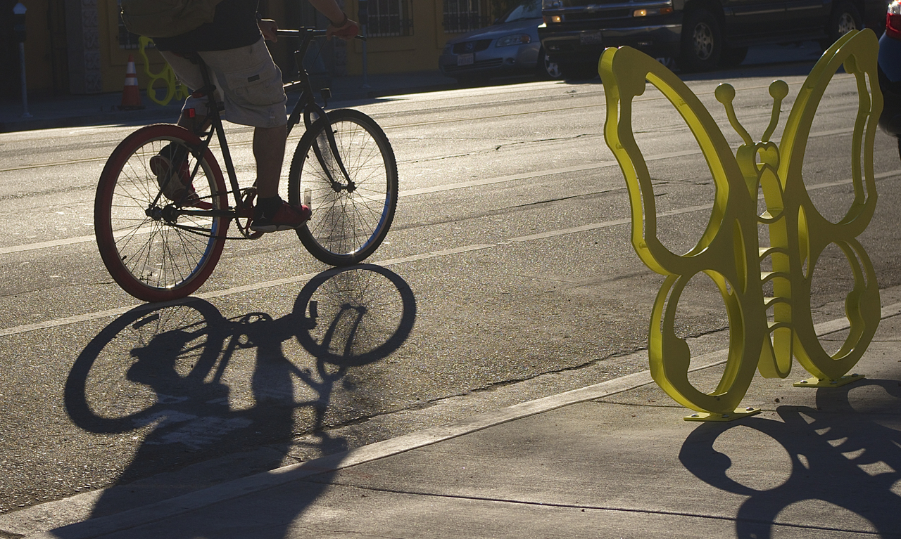 Decorative Bike Racks Privileging Form And Speedy Implementation Over Function Yields