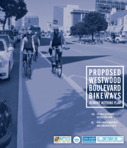 LACBC has made bike lanes on Westwood Boulevard connecting to Expo and to UCLA a priority for years.