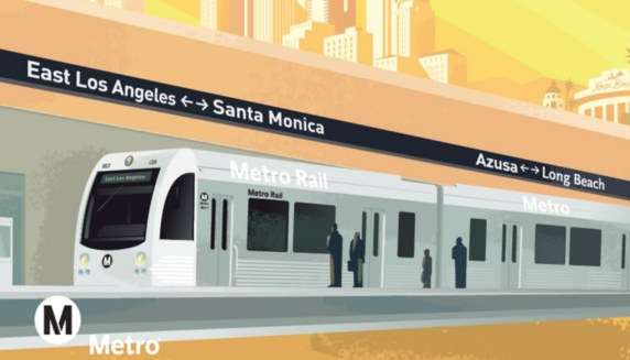 Metro's Regional Connector subway is already over-budget. Image via Metro