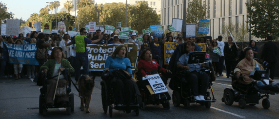 Disabled Angelenos are on the verge of finalizing a historic settlement that will invest heavily in L.A.'s sidewalk network. Photo via CALIF website