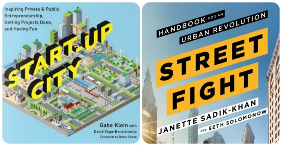 Win Start-Up City by Gabe Klein or Street Fight by Janette Sadik-Khan