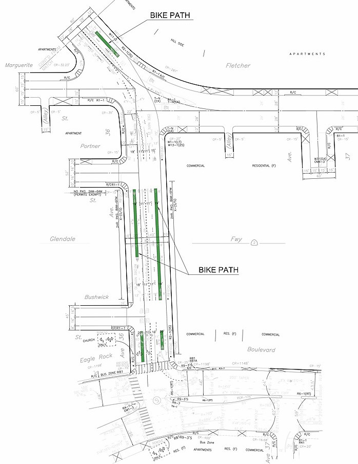 Bike Lanes Planned For Fletcher Drive Meeting Tonight