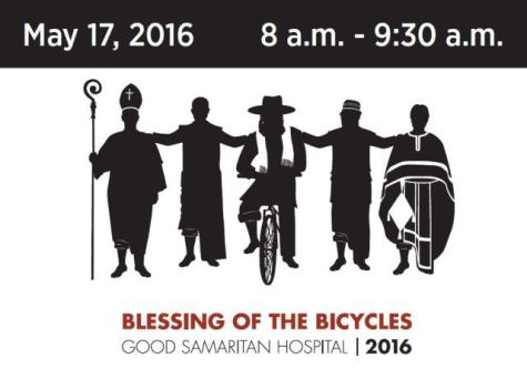 Blessing of the Bikes tomorrow morning!
