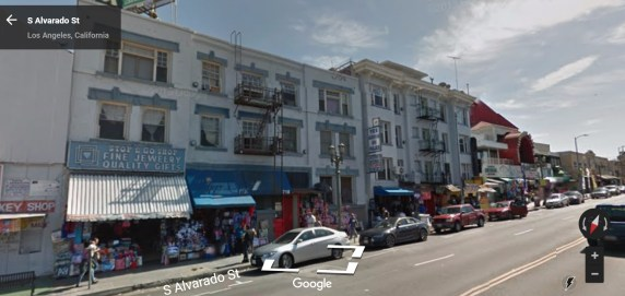 Avarado Street between 6th and 7th. Image via Google street view