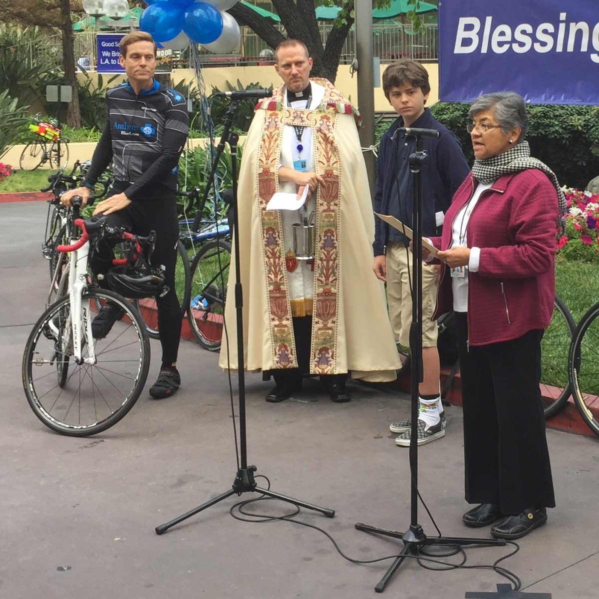 Good Sam's 2018 Blessing of the Bicycles Honors and Humanizes Cyclists