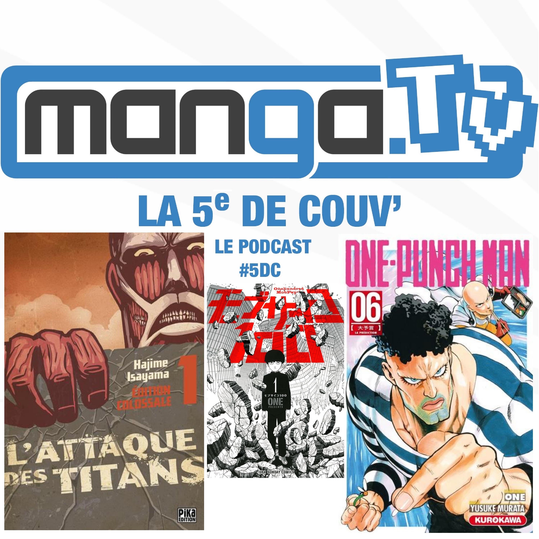 podcast manga tv la 5e de couv s02 bon manga bien dessiné
