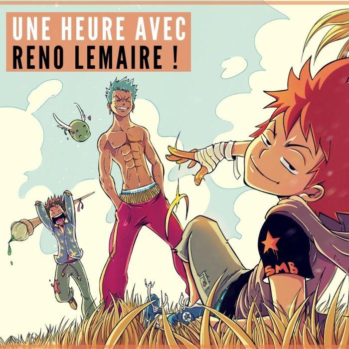 Une heure avec Reno Lemaire (Dreamland) – La 5e de Couv' – #5DC – Saison 6 épisode 16