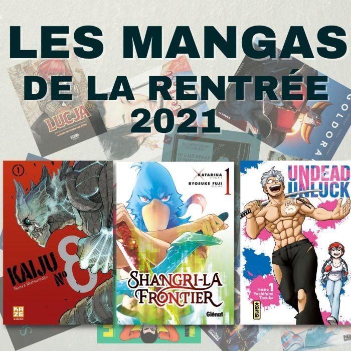 Les mangas de la rentrée 2021 – La 5e de Couv' – #5DC – Saison 7 épisode 2