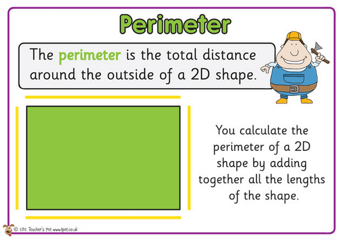 Worksheet Works Perimeter