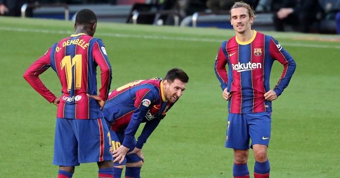 Dembele.Messi .Griezmann.Barcelona.TEAMtalk
