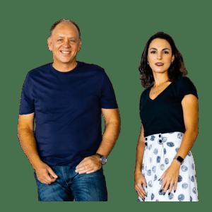Nelson Paiva e Juliana Frota