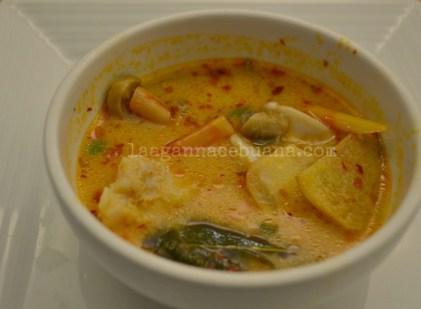 Siam Cuisine Tom Yum Prawn Soup