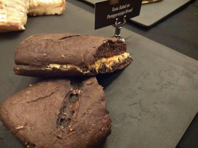 Starbucks Philippines | Tuna Salad on Pumpernickel Bread