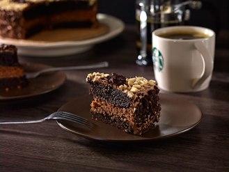 Chocolate Hazel nut cake