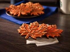 chocolate leaf cookie
