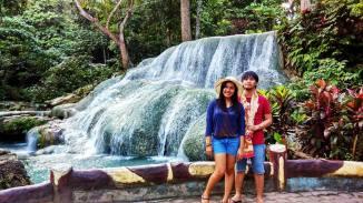 Panas Waterfalls