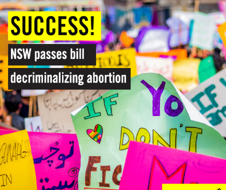 Australia: El Parlamento legalizó el aborto en todo el país