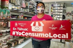 """""""Yo consumo local"""", iniciativa para apoyar al paqueño comercio de Tláhuac"""