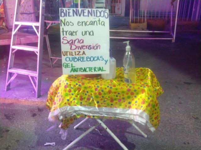 Ferieros agradecen al gobierno de la Gustavo A. Madero .