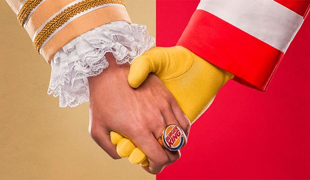 Burger King pide ayudar a McDonald's
