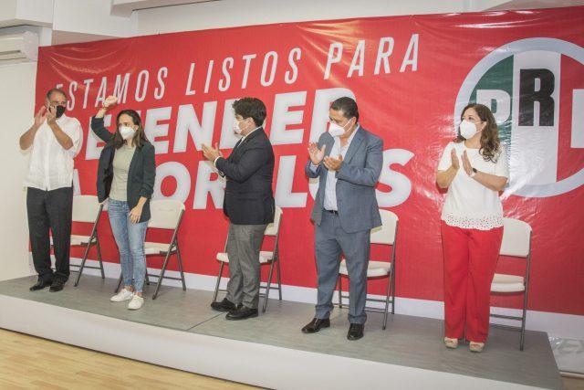 PRI elige a Lourdes Riva Palacio para Segundo Distrito de Morelos