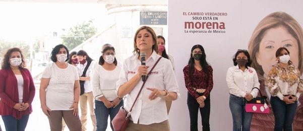 Los ciudadanos son los que pagan las consecuencias, carcel a quienes no terminen obras públicas durante mi gobierno: Dra. Mónica Rangel