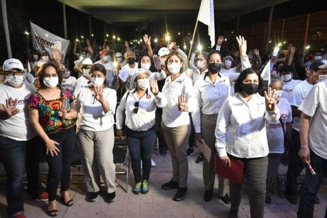 El enemigo a vencer en el estado es la impunidad, la delincuencia y la inseguridad: Dra. Mónica Rangel