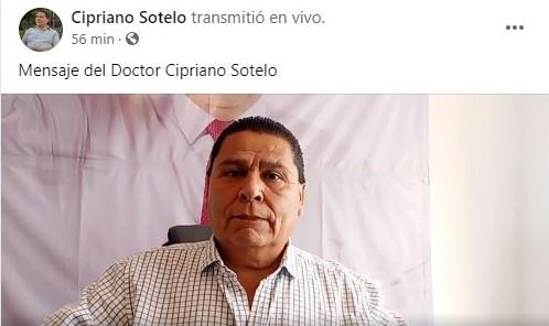 Impepac no aprobó ninguna encuesta de salida: Cipriano Sotelo