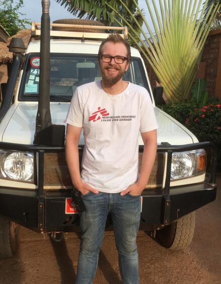 Kariantti Kallio Keski-Afrikan tasavallassa