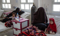 Jemenissä alkoi sota vuonna 2015. Kuva on Haydanin sairaalasta.