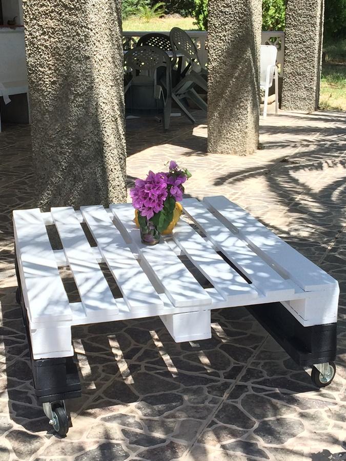 Por fin una mesa de pal la alcoba de mar a - Mesas de pale ...