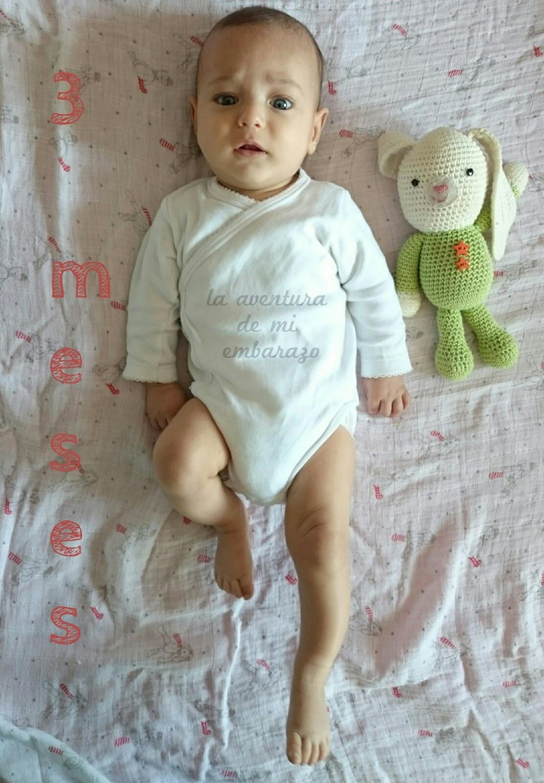 Tres meses con mi beb la aventura de mi embarazo - Bebes de 3 meses ...