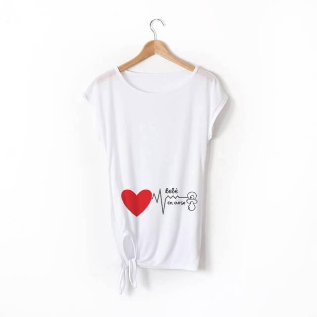 camisetas para embarazadas mamisetas con mensaje