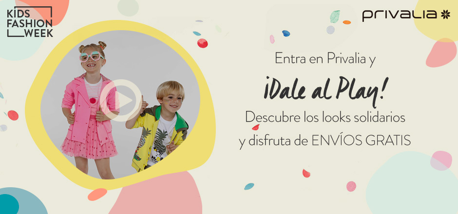 Privalia Kids Fashion Week solidaria a beneficio de UNICEF