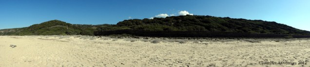 Stunning panorama of the Sardinian brush
