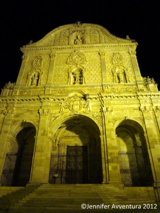 San Nicola by night